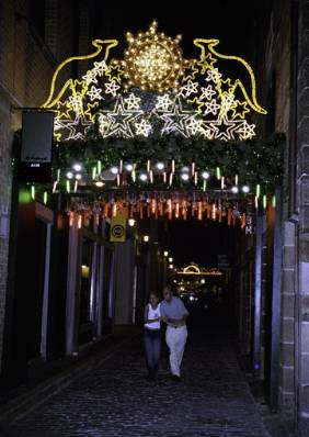 Illuminated Arch, Kendall Lane, The Rocks